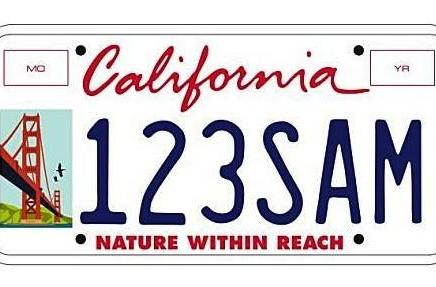 California considers electronic ads on license plates, we consider never moving there