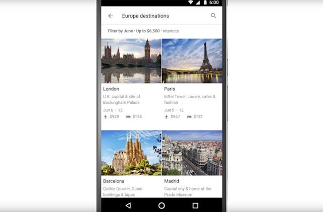 Plan your entire vacation with a single Google search