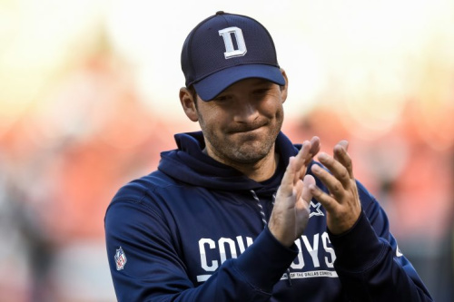 Tony Romo said he was too critical on players during his tests for CBS. (AP)