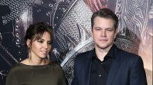 Matt Damon presume con orgullo a su sexy esposa Luciana Barroso
