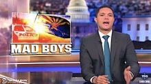 Stunned Trevor Noah Slams 'No Excuse' Cops For Pulling Guns On Phoenix Family