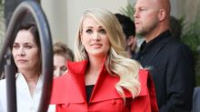 Carrie Underwood receives Walk of Fame star
