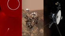 O céu (não) é o limite | Cometa mergulha no Sol, rodas do Curiosity e mais
