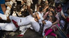 Indian police detain key opposition leaders protesting rape