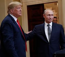 Former US ambassador to Russia says Trump 'always sides with Putin' after the president said the Russian bounty intelligence is 'Fake News'