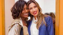 No SBT, Gloria Maria encanta Patrícia Abravanel e dá selinho em Silvio Santos
