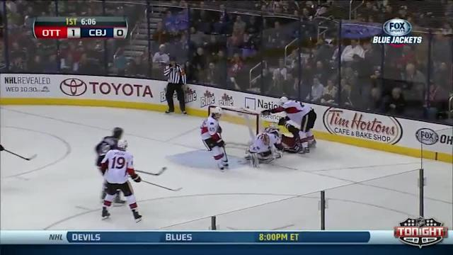 Ottawa Senators at Columbus Blue Jackets - 01/28/2014
