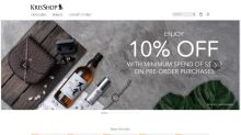 KrisShop unveils its new website with an enhanced shopping experience
