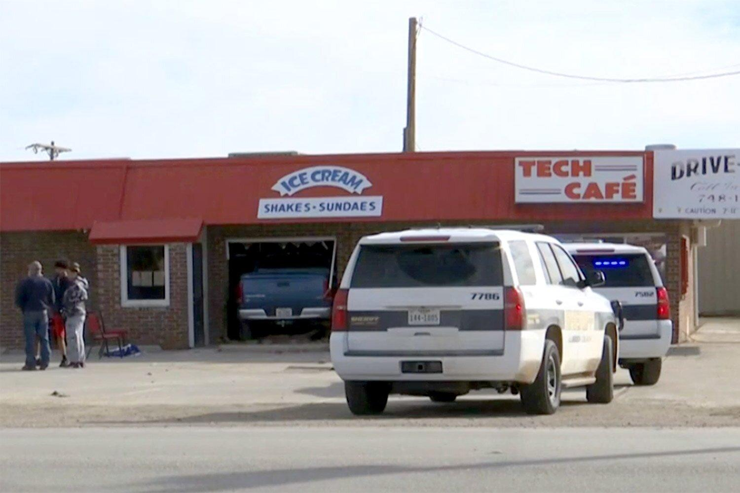 2 Texas Men Die After Pickup Truck Driver Accidentally Puts Car In Drive Slamming Into Restaurant