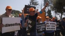 Thousands of white workers protest Sasol black scheme