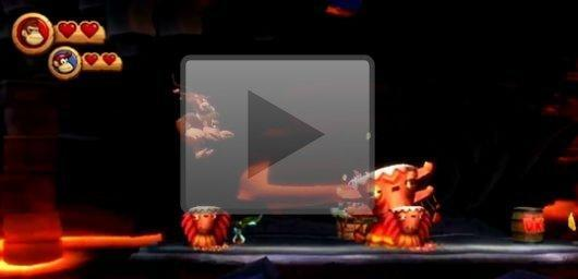 New Donkey Kong Country Returns trailer looks so tough a monkey's gotta do it