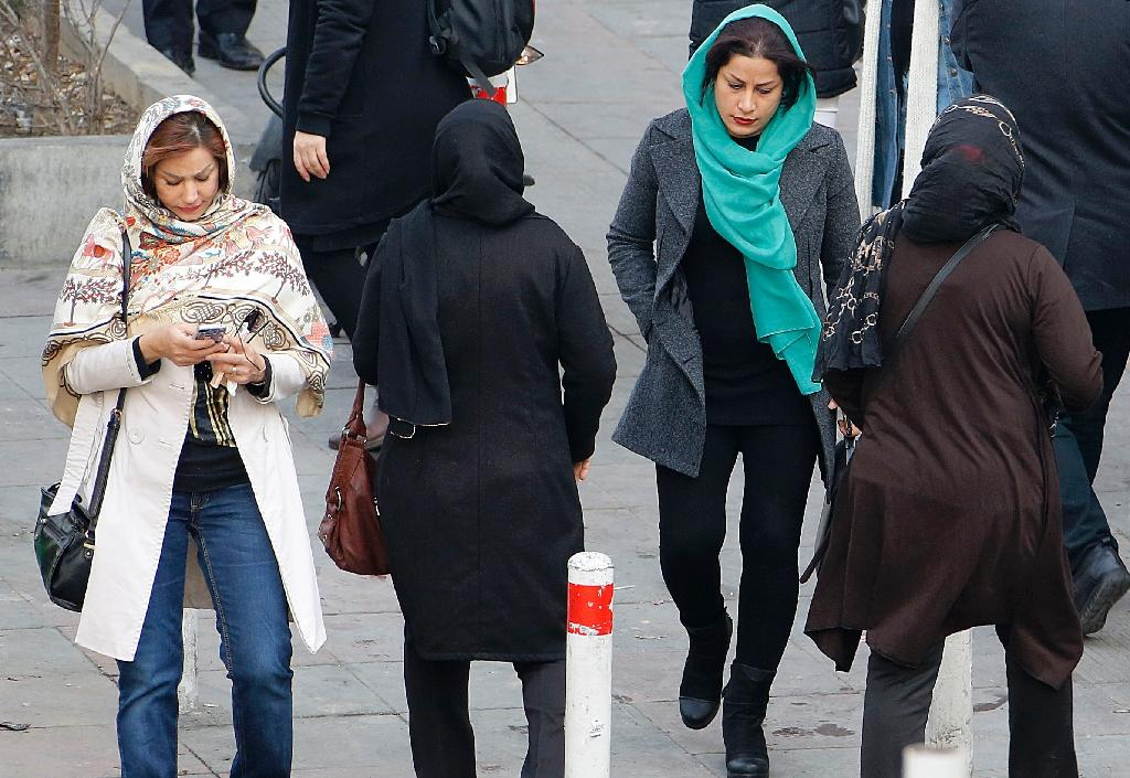 The headscarf, or hijab, considered a symbol of women's modesty in Islam, is compulsory for females in Iran