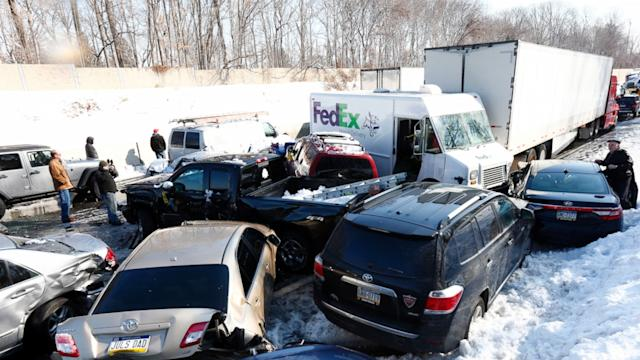 How to Keep Yourself and Your Car Out of the Winter's Next Pile-Up Accident
