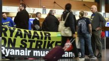 Ryanair first-half profits fall 7% after widespread strikes