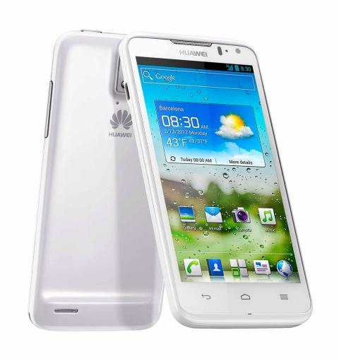 Huawei Ascend D: Pantalla 720p, CPU quad core a 1,5 GHz y Dolby 5.1 - MWC 2012