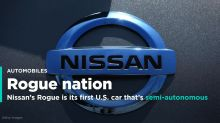 Nissan's Rogue is its first US car with semi-autonomous driving