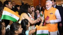 PM Modi accorded warm welcome by Indian diaspora in Japan