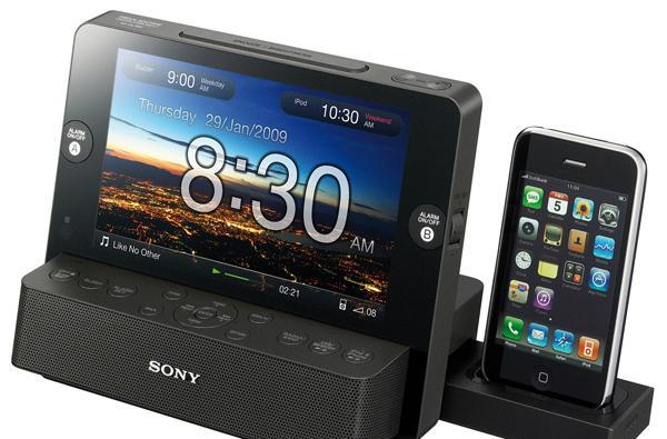 Sony ICF-CL75iP alarm clock / digital frame / iPod dock a surprisingly attractive assimilation