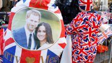 Los británicos se preparan para la boda del príncipe Harry y Meghan Markle