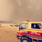 Fire devastates world's largest sand island