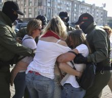 Scores arrested in protest against Belarus' president