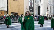 The Brightly Colored Uniforms Seen at NYC's St. Patrick's Day Parade