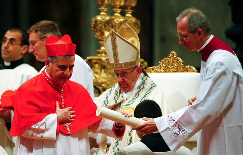 Key Vatican cardinal caught up in real estate scandal resigns suddenly