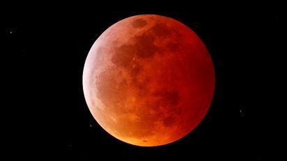 La luna di sangue: l'eclissi totale incanta il mondo