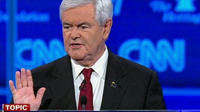 Gingrich, Romney go head-to-head on immigration