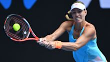 Kerber sees off Pliskova to reach last 16