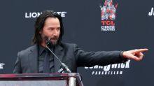 Keanu Reeves admits to secret Sandra Bullock crush