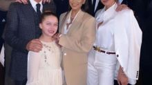 Victoria Beckham's Daughter and Son Baptized as Eva Longoria and Marc Anthony Named Godparents