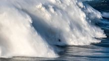 Big Wave Surfer Breaks His Back In Monster Wipeout