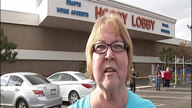 Pat Nye describes experience inside Bakersfield Hobby Lobby during bomb scare