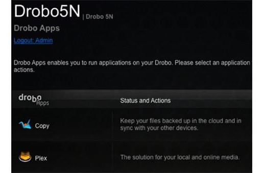 Plex app now available for Drobo's media-savvy 5N NAS
