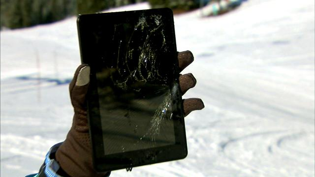 Torture test: Snowmobile vs. gadgets