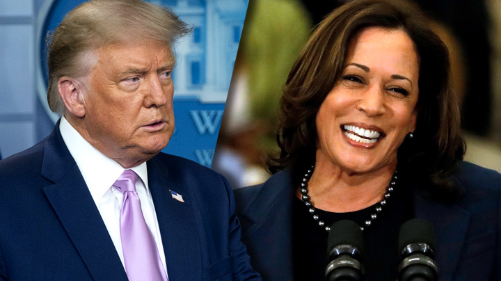 Trump wastes no time in attacking Harris