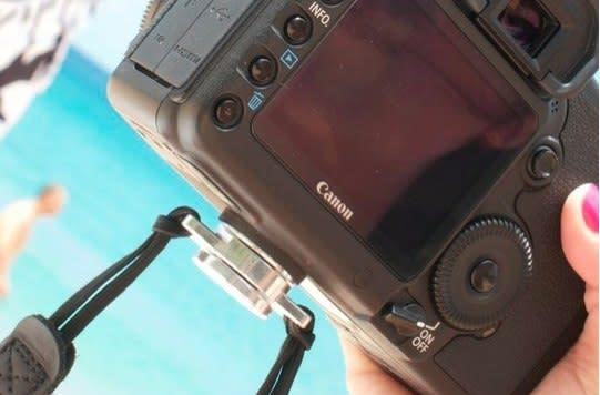 C-Loop camera strap contorts in ways your first party strap could only dream of