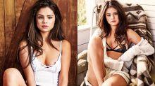 有愛情滋潤的女人果然特別美-Selena Gomez 最新微捲 Lob Hair+半裸照超級性感!