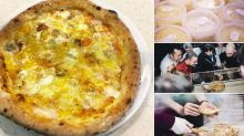 This pizza is made from 111 different cheeses