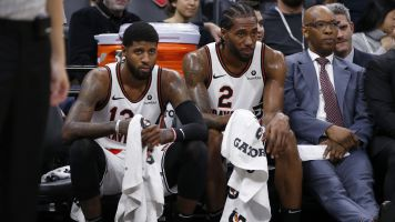 Kawhi, PG13 causing friction with teammates?