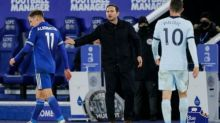 'I can handle the pressure,' says Lampard after Chelsea lose again at Leicester