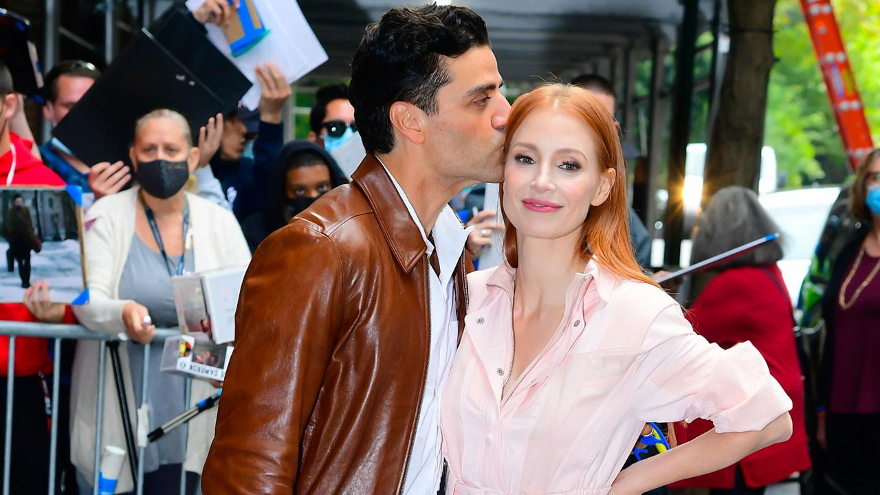 Jessica Chastain had one condition while filming full-frontal nudity: 'I wanted it to be balanced'