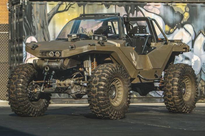 Watch Ken Block's Hoonigan team build a real life 'Halo' Warthog vehicle