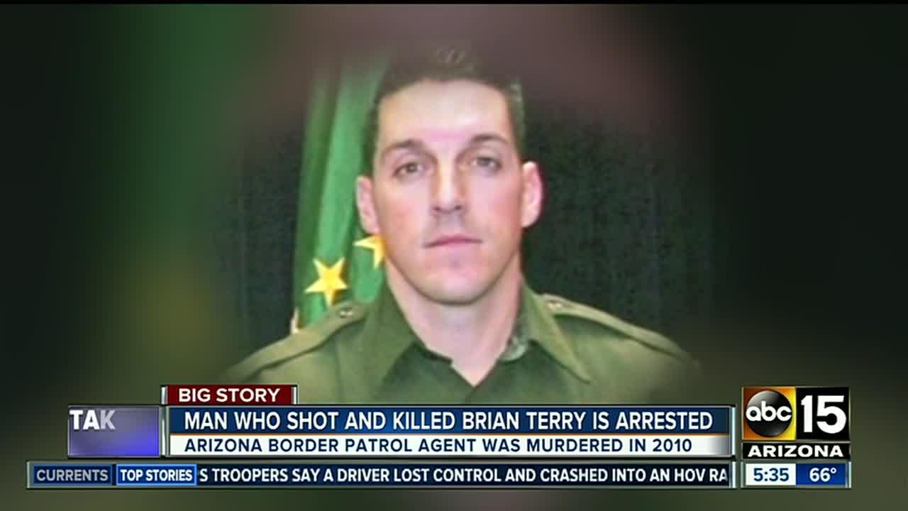 Authorities have arrested the suspected shooter in the 2010 killing of a U.S. Border Patrol agent whose death exposed a bungled gun-tracking operation by the federal government.