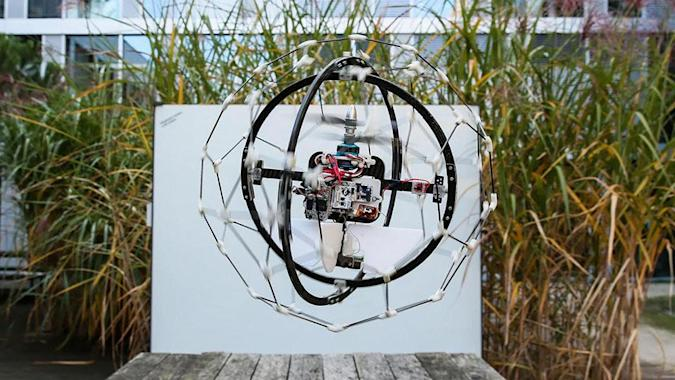 Rescue drone that can search buildings wins $1 million prize