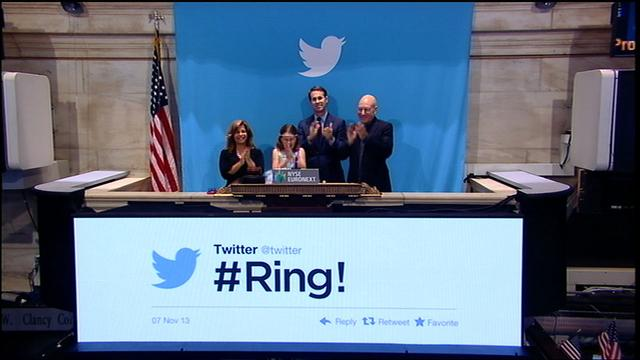 Twitter IPO: The opening bell