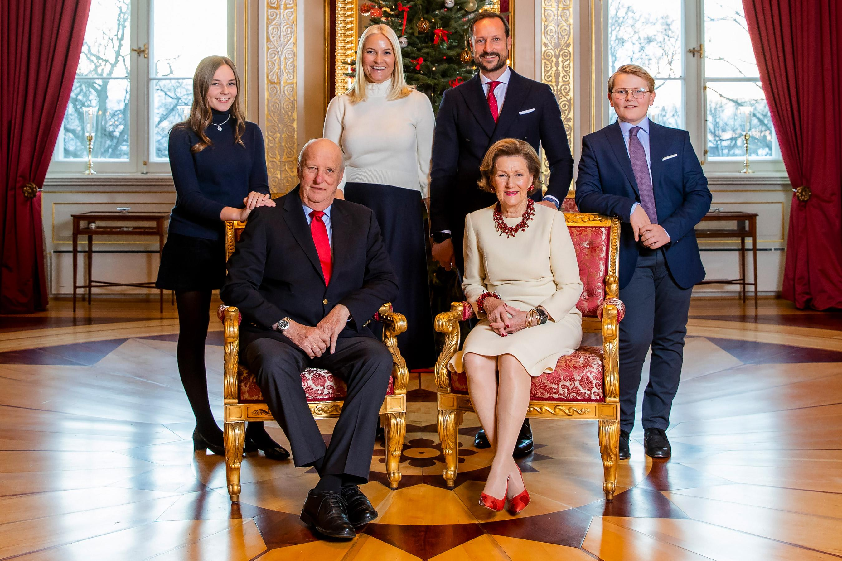 Merry Christmas In Norwegian.Merry Christmas From Norway See Princess Mette Marit In The