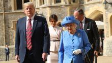 You may have missed Queen Elizabeth's subtle dig at Donald Trump