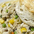 This slow-cooker chicken pot pie is Reddit-famous, so we tried it